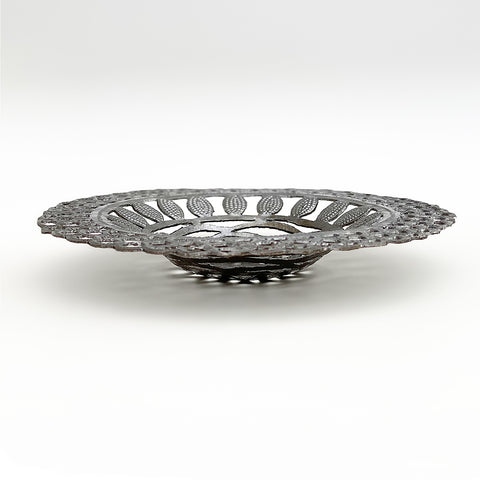 .Wall Art - Metal - Round Decorative Bowl