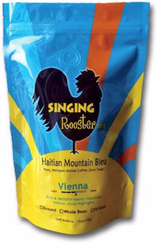 .Singing Rooster Coffee - Vienna Medium Dark - 12 oz. Bag