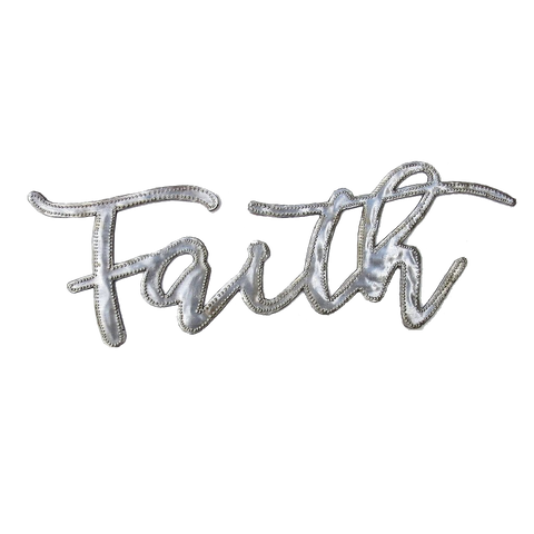 Wall Art  - Metal  - Faith