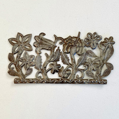 Wall Art - Metal - Flower Panel