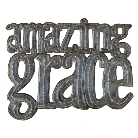 Wall Art - Metal - Amazing Grace