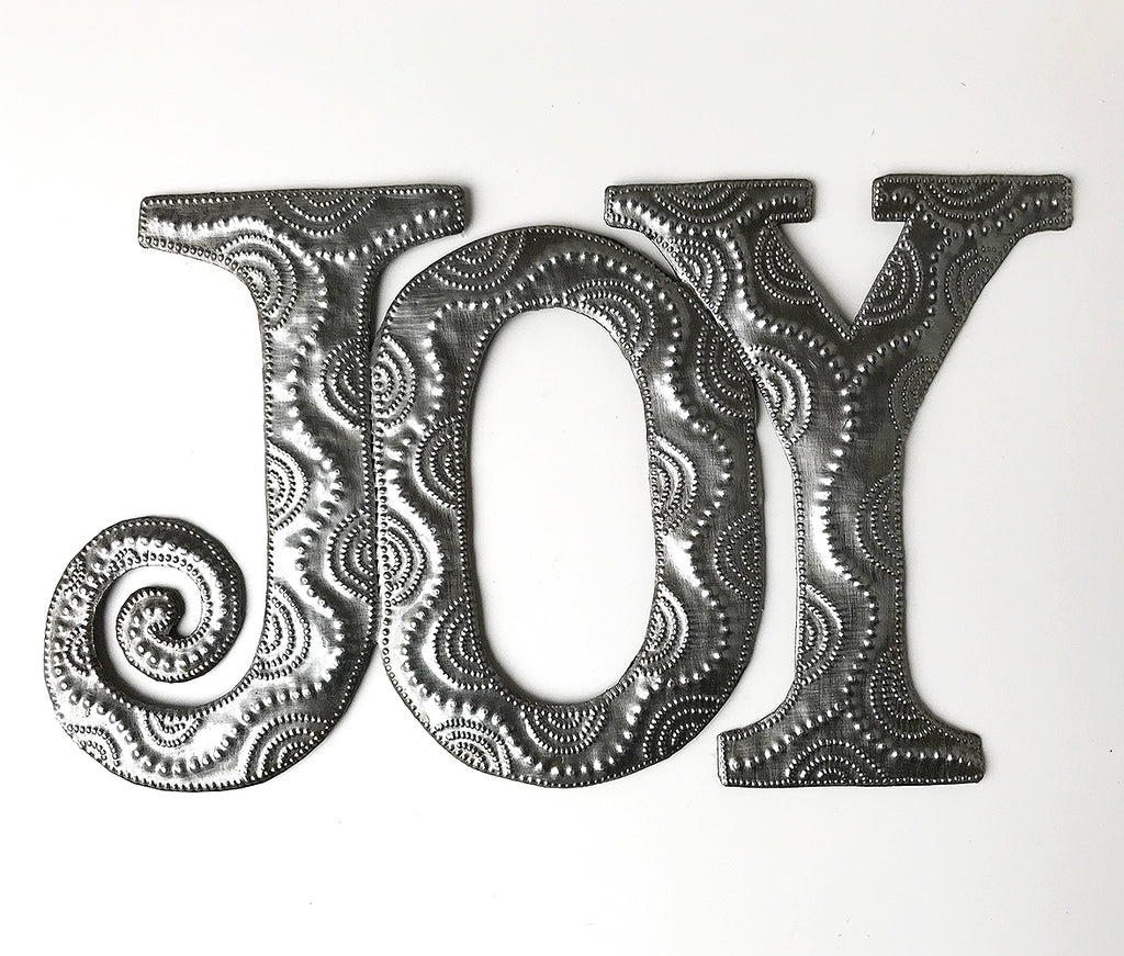 Wall Art - Metal - Joy