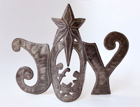 Nativity -  Metal - JOY Standing