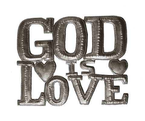 Wall Art  - Metal  - God is Love