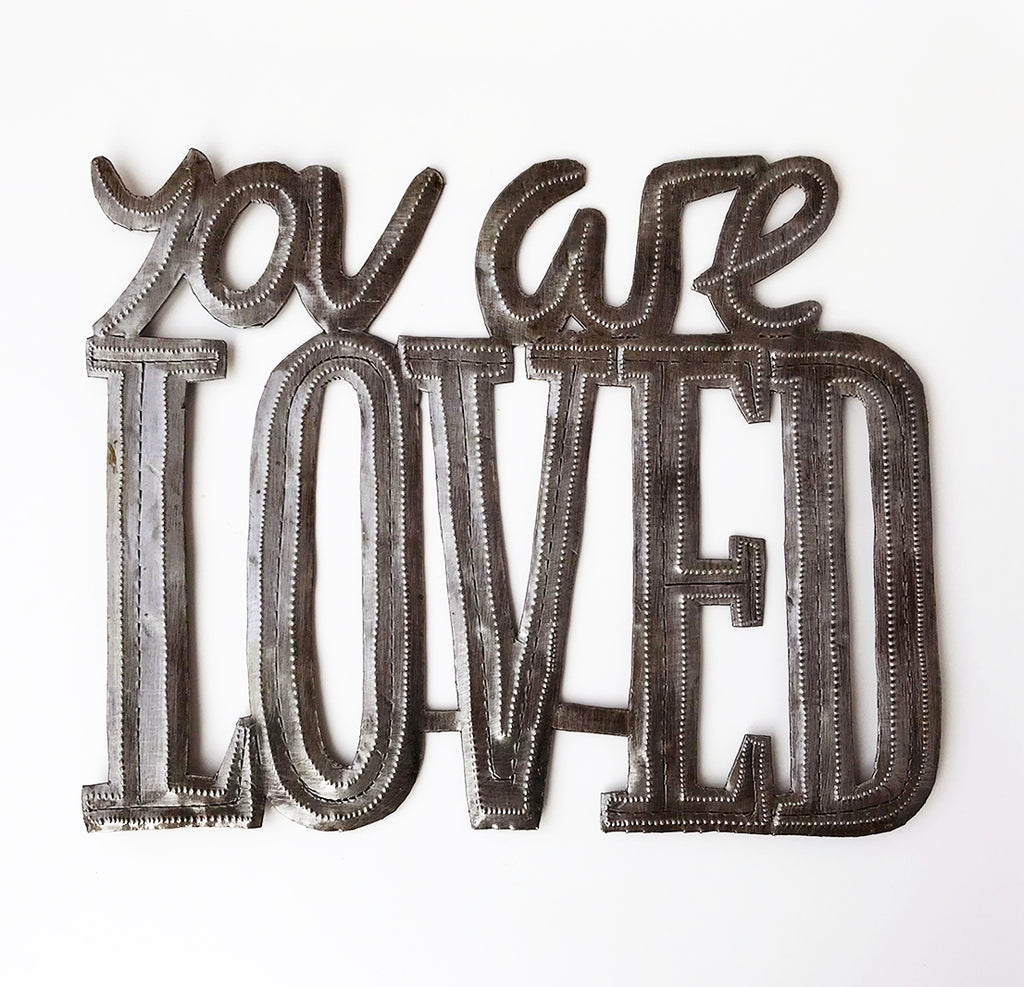 Wall Art - Metal  - You are Loved
