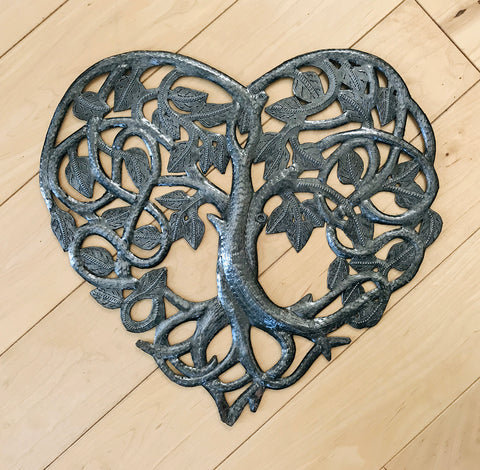 Wall Art - Metal - Tree Heart