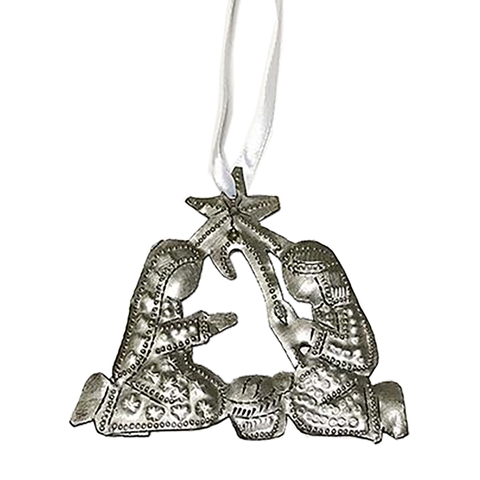 Nativity -Metal - Tree ORNAMENT
