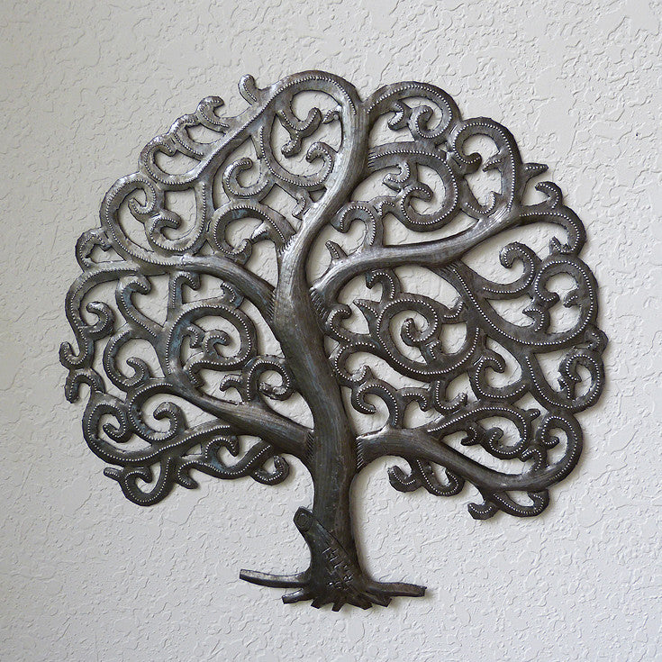 Wall Art - Metal - Tree of Life – Market Haiti