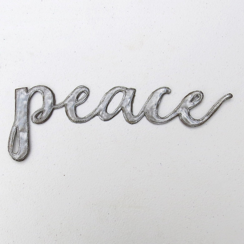 Wall Art  - Metal  - Peace