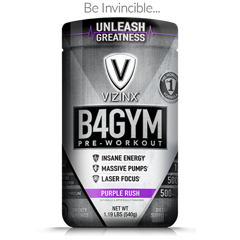 B4GYM Purple Rush - VIZINX