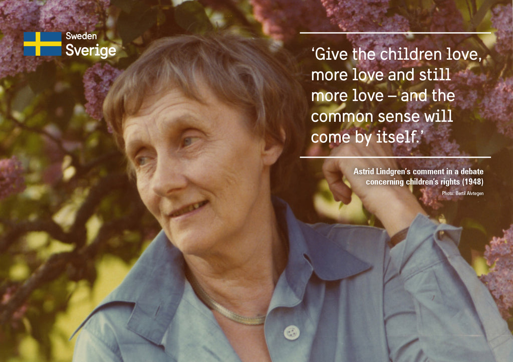 Honouring Astrid Lindgren on International Womens Day