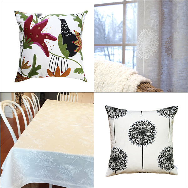 Spring Sale - Linen Fabrics and products