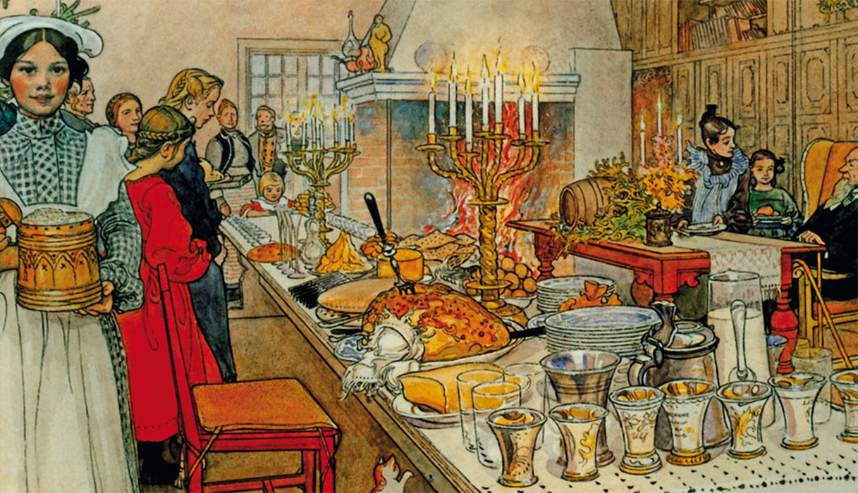 Carl Larsson's Christmas Eve