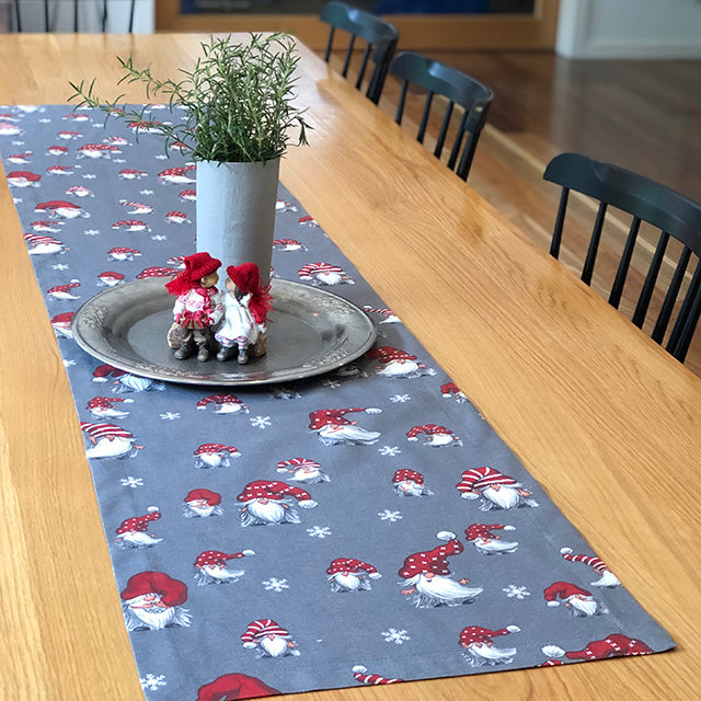 JULIAN (grey) - Christmas Table Runner