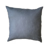 Linen cushion dark grey
