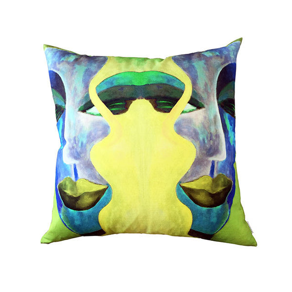 LADIES (blue) - Cushion
