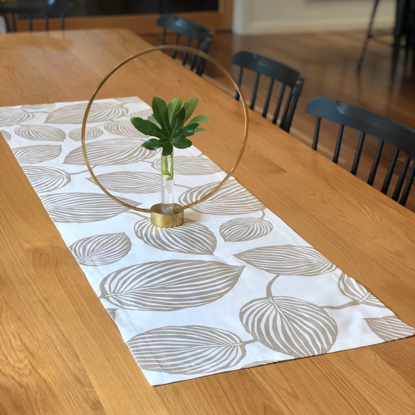 """LIMITED STOCK"" LYCKANS BLAD (gold) - Christmas Table Runner"