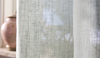Sheer curtain by the metre - LINERO 300cm (light blue) minimum order: 5m
