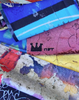"""LIMITED EDITION"" Cotton by the metre - GRAFFITI"
