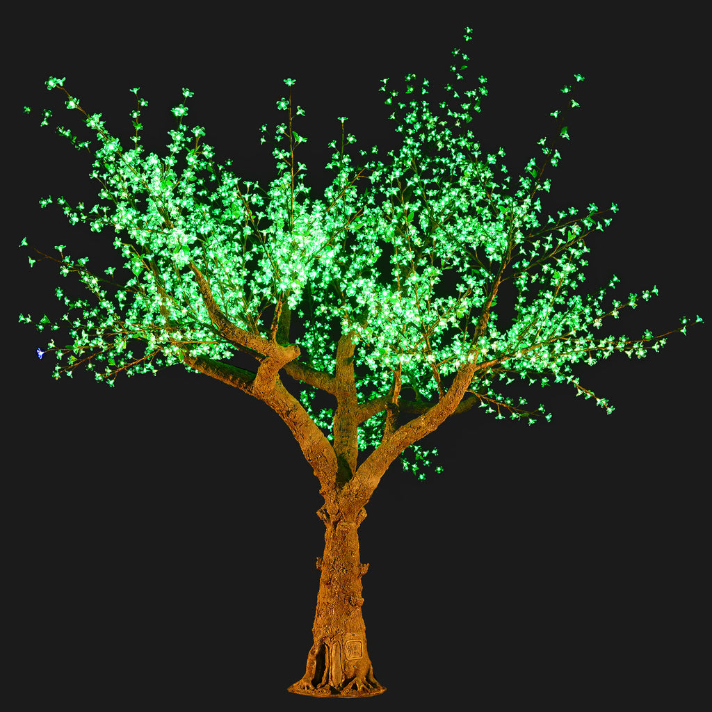 Bright Baum - 11 ft. Cherry Blossom Color Changing LED Tree – Bright ...