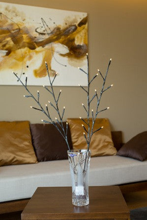 Artificial LED Birch Branch B-6001