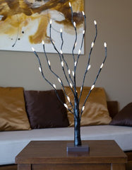 Artificial LED Branch-B-8006 light stick brown base