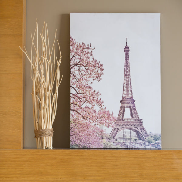 Pretty Valley Home - Paris LED Painting