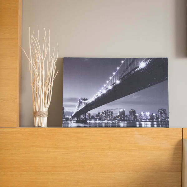 Pretty Valley Home - Manhattan Bridge LED Painting