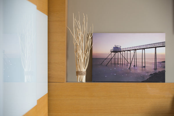 Pretty Valley Home - Malibu LED Painting