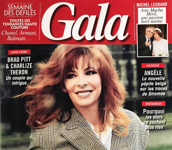 Couverture Gala magazine de mode