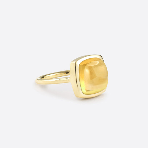 Coussin Ring - Gold