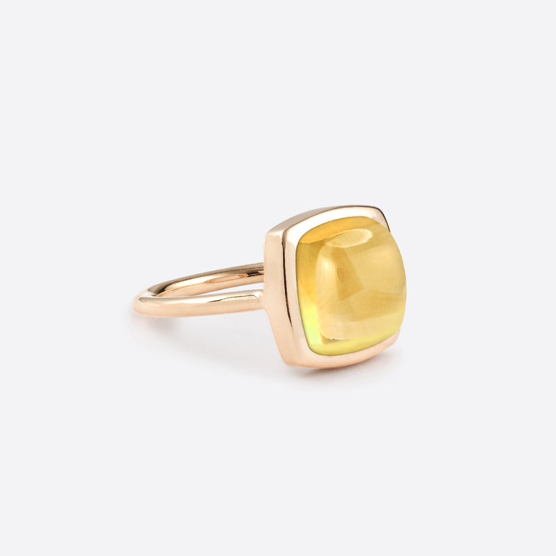 Ring Coussin - Gold