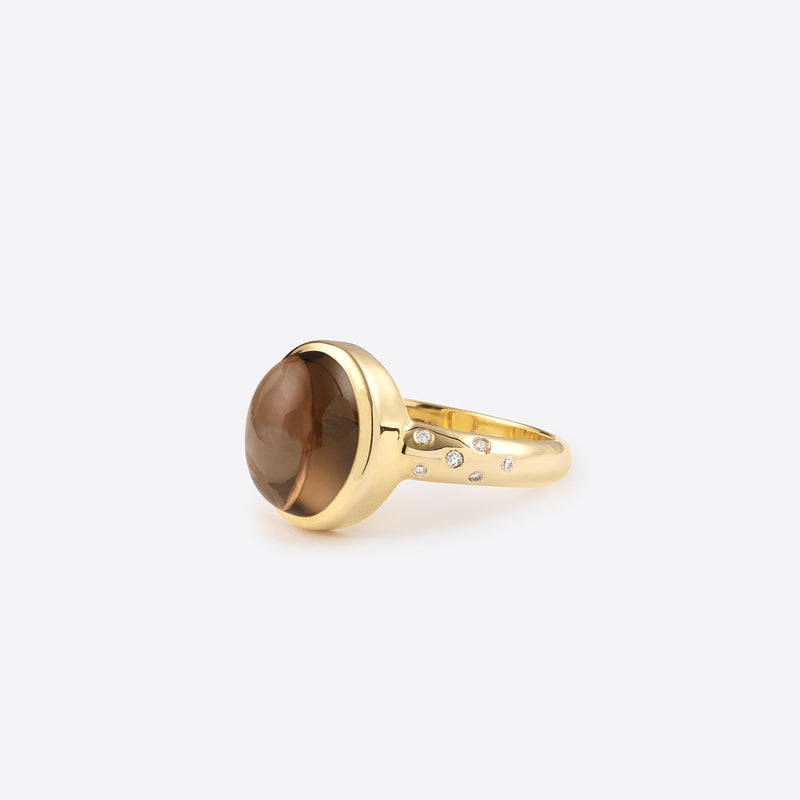 Star Berlingot Ring - Gold