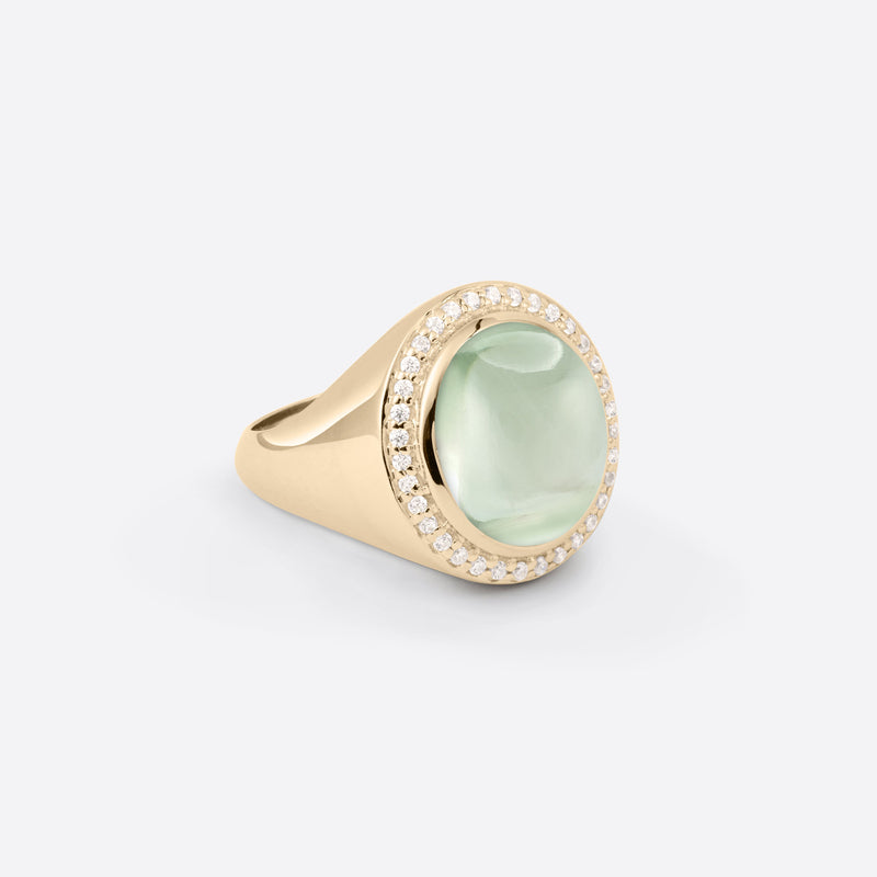 Oval Signet Ring - Gold