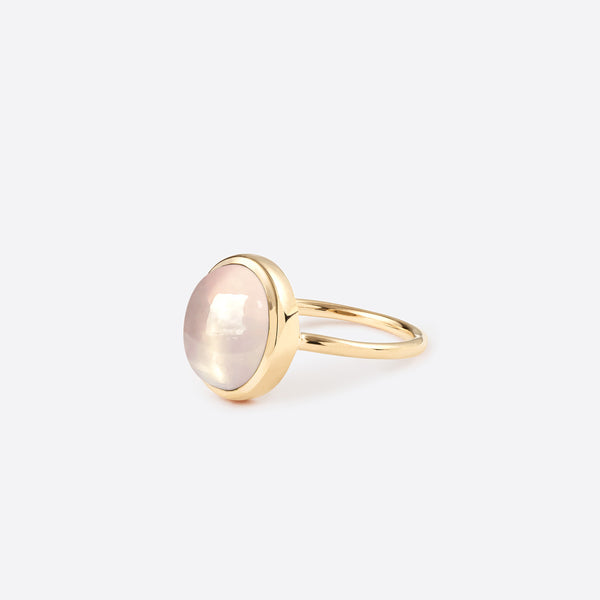 Petit Oval Ring - Gold