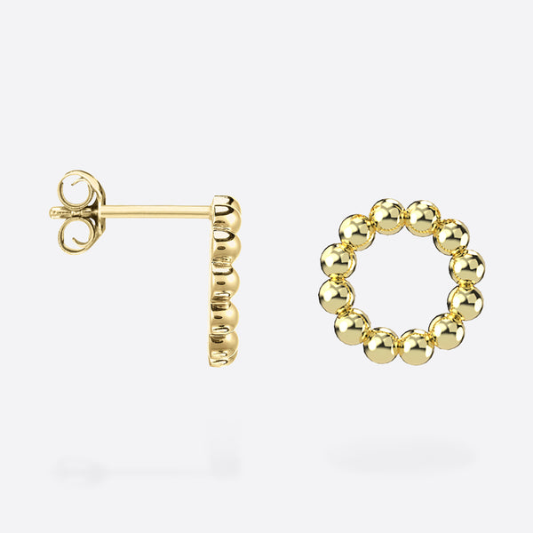 Stud Cercle - Gold