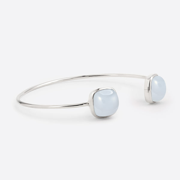 Coussin Cuff - Silver