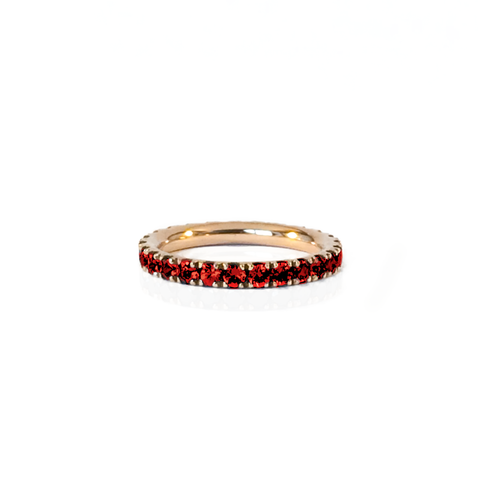 Bague RBW Or Rose et Rubis