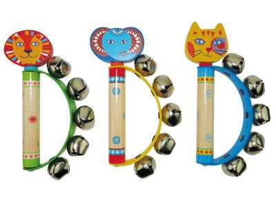 Wooden Toys, Children's Animal Hand Bells