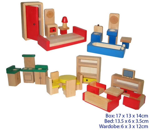 Online Toys, Dolls House Wooden Furniture
