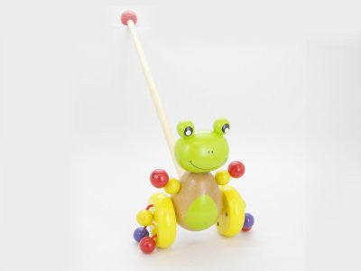 Wooden Toys Children's Frog Toy
