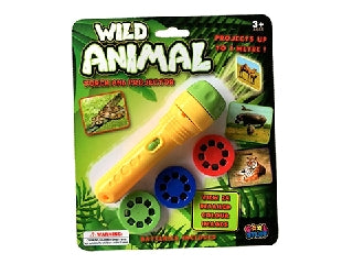 LED Projector Torch Wild Animal