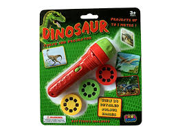 LED Projector Torch Dinosaur