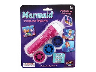 LED Projector Torch Mermaid