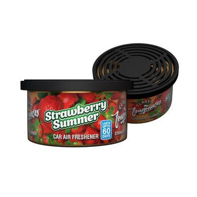 Strawberry Summer Tin Air Freshener