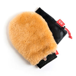 Wo-Wo Lambswool Wash Mitt With Drying Bag