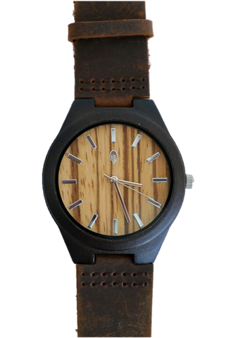 Amazon | Ebony Wood Case Watch