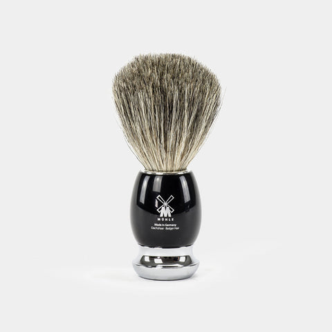 Pure Badger Barberkost Sort