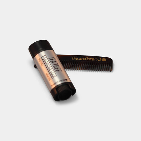 Mustache Wax og Pocket Comb