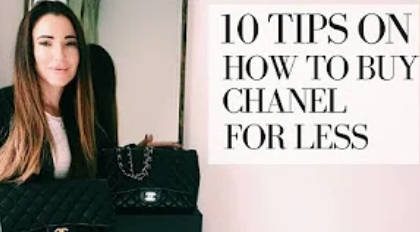 How to buy Chanel for less: 10 tips